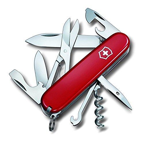 Victorinox Original Swiss Army Climber Pocket Knife Red