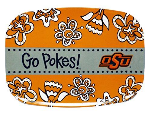 Memory Company NCAA Oklahoma State Cowboys Melamine Serving Platter 10x14 in Oklahoma State Cowboys