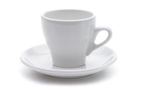 Milano White Cappuccino Cups Original Set of 6