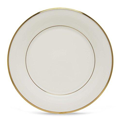 Lenox Eternal White Gold Banded Bone China Dinner Plate