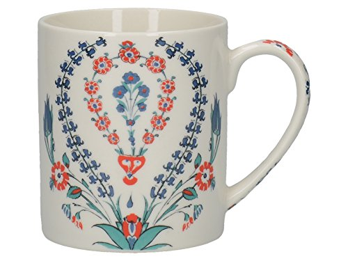 Creative Tops V&A Iznik Hyacinth Fine China Mug Multi-Colour