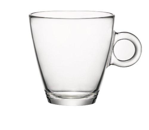 Bormioli Rocco Easy Bar Tea Cups Clear Set of 12