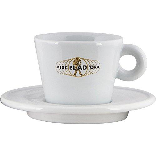 Miscela dOro Modern Latte Cup Saucer - 95 oz - D605