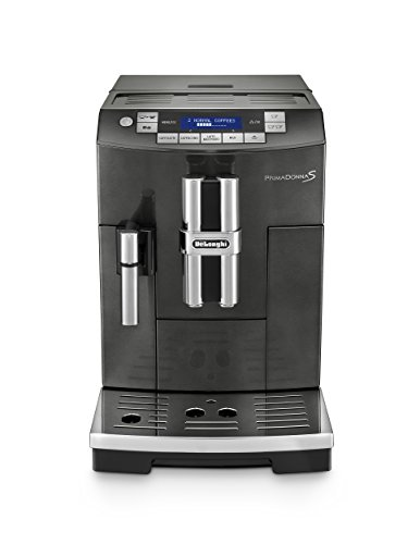 DeLonghi America ECAM28465B Prima Donna Fully Automatic Espresso Machine with Lattecrema System Black
