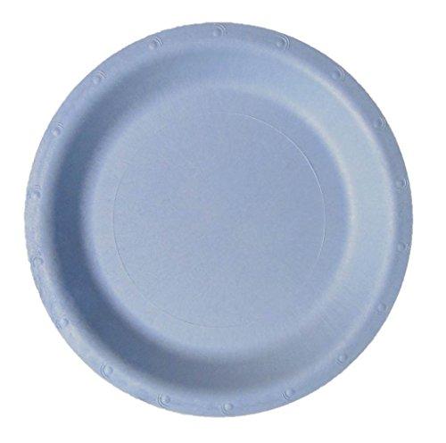 Blueware 150 Bulk 9 Compostable Plate Light Blue