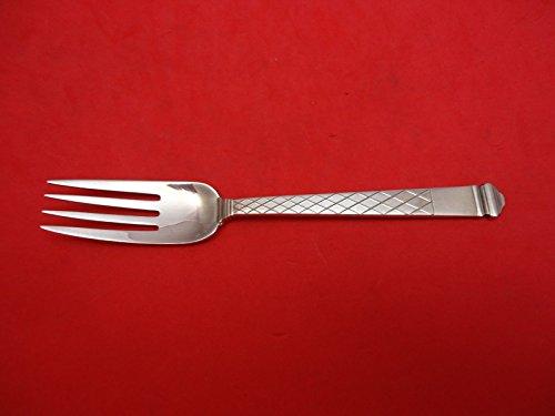 Harlequin by Tiffany Co Sterling Silver Dessert Fork 6 14