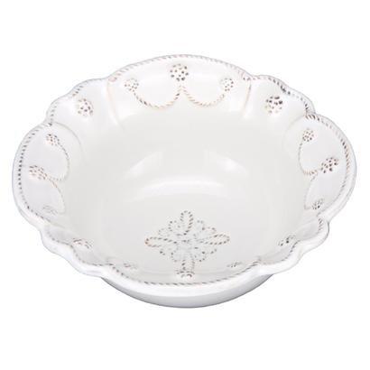 Juliska Jardins White Cereal Bowl