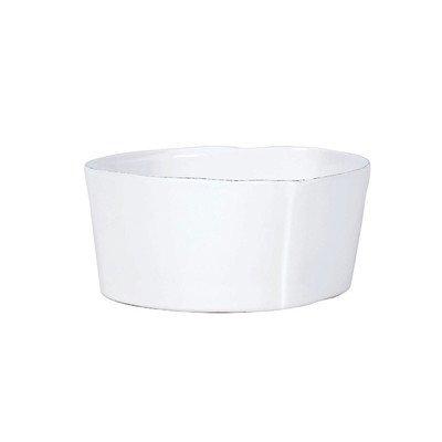 Vietri Lastra White Cereal Bowl