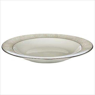 Harcourt Platinum Rim Soup Plate 9 inch