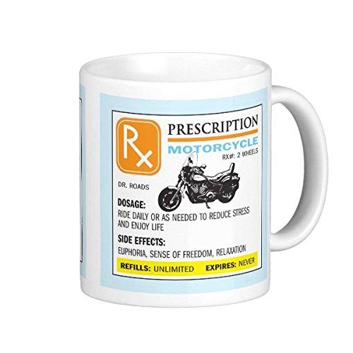 Funny Ceramic Coffee Cups Prescription Insulated Mugs