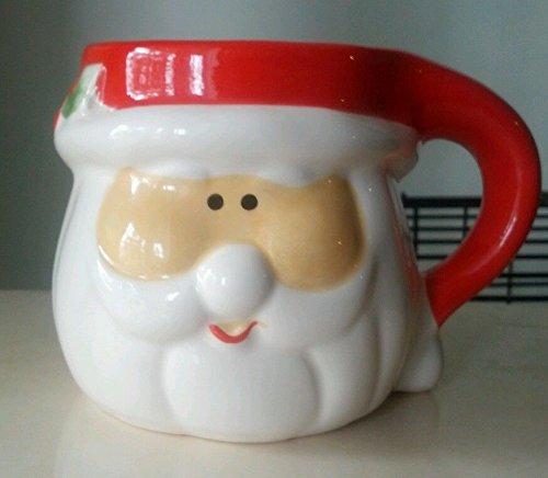 Santa Claus 14oz Ceramic Coffee Cup by Merry Brite