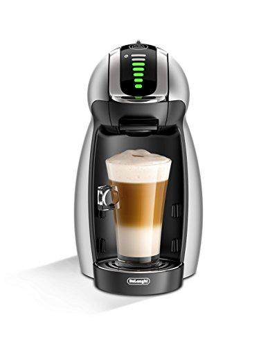 DeLonghi America EDG466S Nescafe Dolce Gusto Genio 2 Espresso and Cappuccino Machine Silver