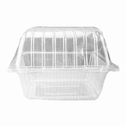 Hard Clear Plastic Dessert Bowls Bulk 100 Pack Premium Quality