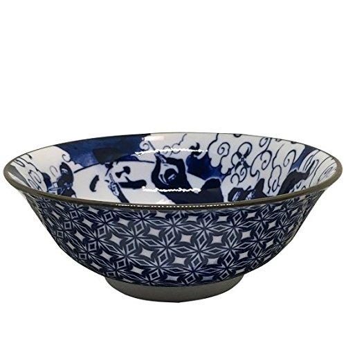 Ninja 68 Dim Size Ramen Bowl(2 pieces sets) Navy blue