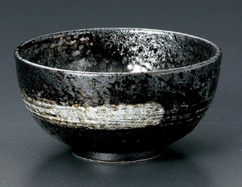 UZUSHIO Jiki Japanese Porcelain Set of 2 Ramen-Bowls for UDONSOBATERIYAKI-BOWL made in JAPAN
