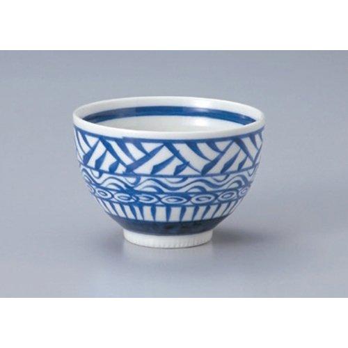 Ramen Soba Udon Noodle Bowl utw411-34-694 48 x 32 inch Japanece ceramic Mishima heavy bowl tableware