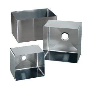 Stainless Steel Sink Bowl - 14 Gauge - 24 x 24 x 14 Deep