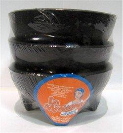 Molcajete Plastic Salsa Bowls Small