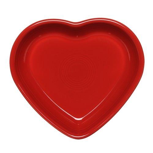 Fiestaware Heart Shaped Small Bowl 7 Oz Retired Scarlet