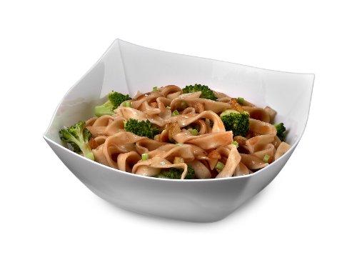 EMI Yoshi EMI-SB16W Square Plastic Soup or Salad Bowl 16-Ounce White 48 Per Case