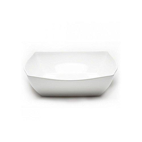 Elite Global Solutions Super Bowls 13 White Square Bowl