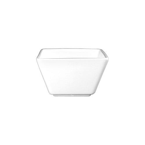 International Tableware EL-11 Elite 8 Oz White Square Bowl - 36  CS