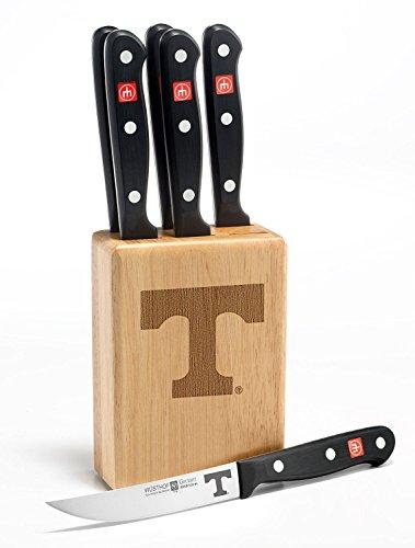 Gourmet 7 Pc Tennessee Steak Knife Block Set - Clearance