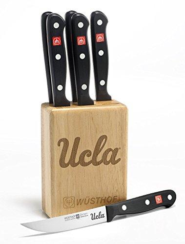Gourmet 7 Pc UCLA Steak Knife Block Set - Clearance