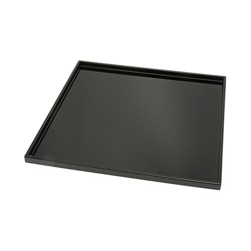 Kotobuki Square Black Lacquer Serving Tray 11-34