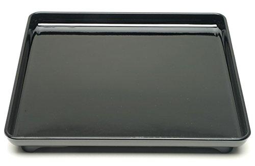 Kotobuki Square Black Lacquer Serving Tray 14-14-inch270-904