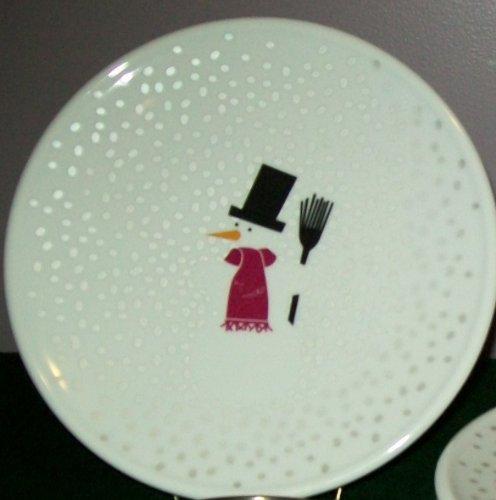 Bodum Snowman Salad Plate