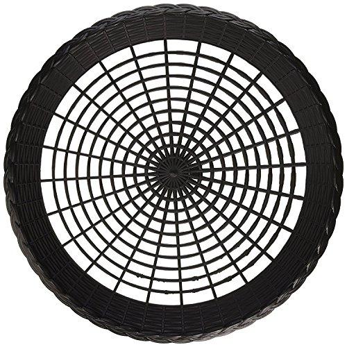 Reusable Black Plastic Paper Plate Holder for 9 Plates Pack of 12