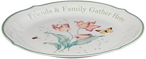 Lenox Butterfly Meadow Friends Family Gather Here 12 Platter