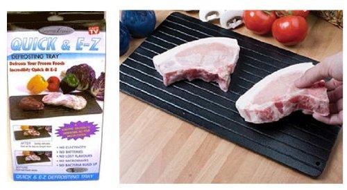 1 X Gourmet Trends Quick EZ Defrosting Tray