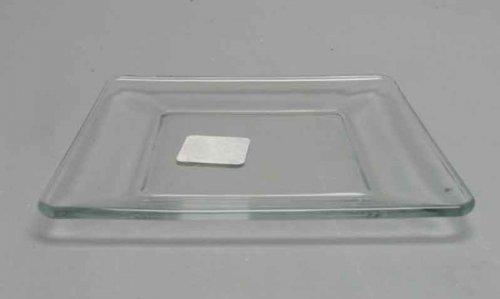 Libbey 1797299 Tempo 6 Square Glass Plate - 12  CS