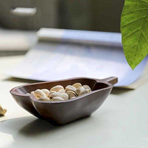 Wooden Fruit PlateCreative Fruit TrayDecorationSnack PlateFruit TrayPlate-E