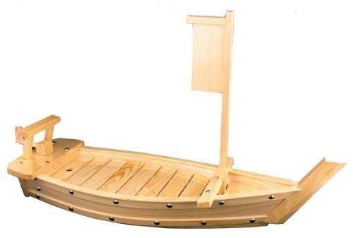 Natural Bamboo Sushi Tray Boat 50CM 20