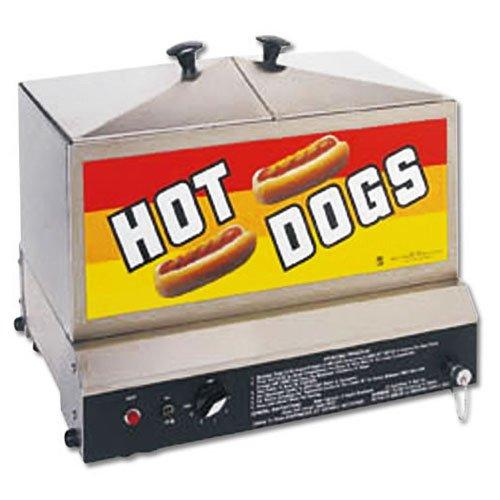 Gold Medal Steamin Demon Hot Dog Steamer