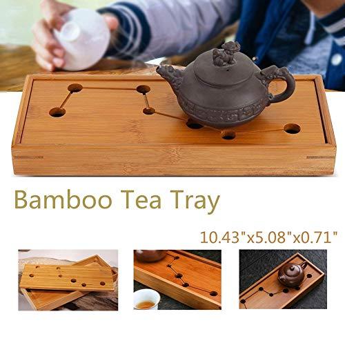 Bamboo Tray,Acogedor Gongfu Tea Tray,Serving Tray,Big Dipper Pattern Design