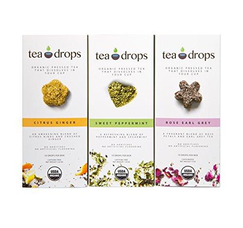 Tea Drops Best-Sellers Combo Pack 30 Servings of Tea