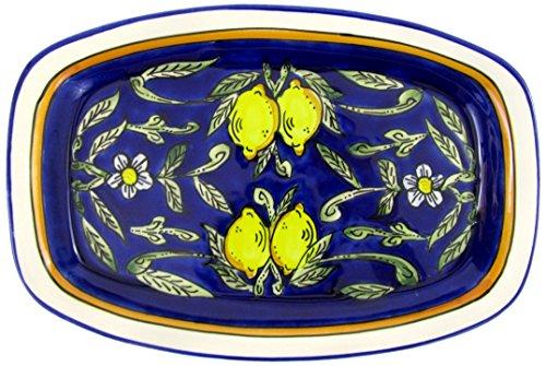 Le Souk Ceramique CQ29 Stoneware Rectangular Platter Citronique