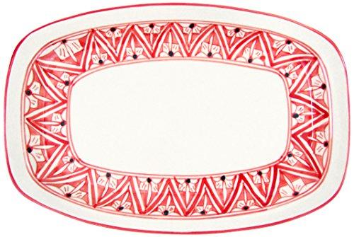 Le Souk Ceramique NJ29 Stoneware Rectangular Platter Nejma