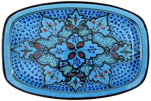 Le Souk Ceramique SB29 Stoneware Rectangular Platter Sabrine
