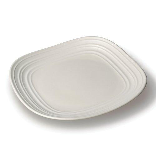 Mikasa Swirl White Square Salad Plate 875-Inch