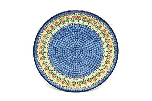 Polish Pottery Platter - Round 12 14 - Maraschino
