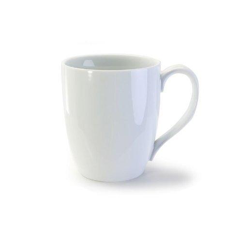 Bia Cordon Bleu 903109  White Porcelain Bistro Mug 4pc Set