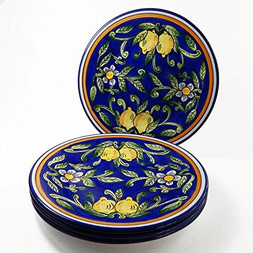 Le Souk Ceramique CQ43 Stoneware Dinner Plates Set of 4 Citronique