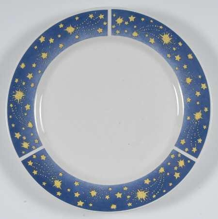 Oneida Celestial Stoneware Dinner Plate 10 12 New