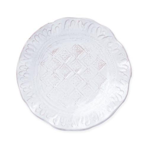 Vietri Bellezza Stone White Salad Plate