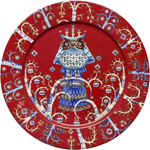 Iittala Taika Red Dinner Plate 27cm